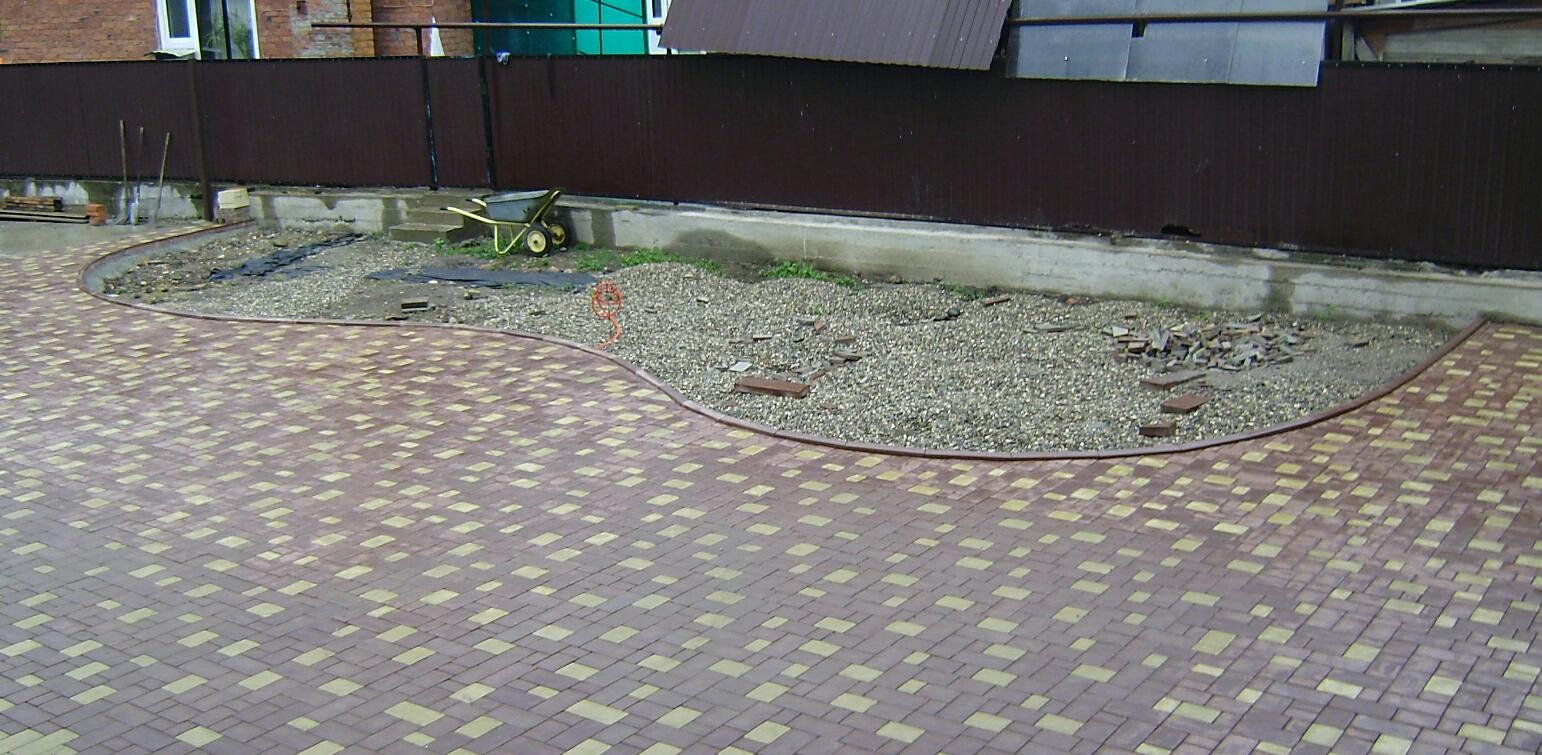 Тротуарная плитка форма
